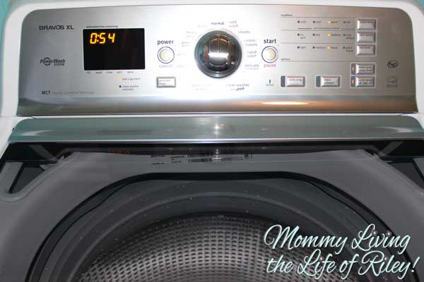 how to clean the filter on a maytag bravos washer