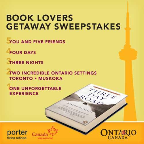 Book Lovers Getaway Sweepstakes