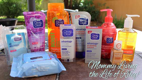 Clean & Clear / Neutrogena Back to School Teen Products