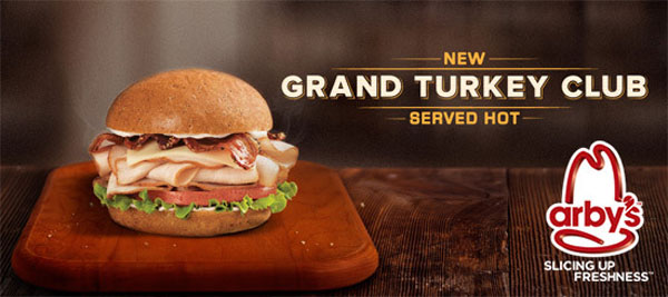 Arby's Grand Turkey Club Sandwich