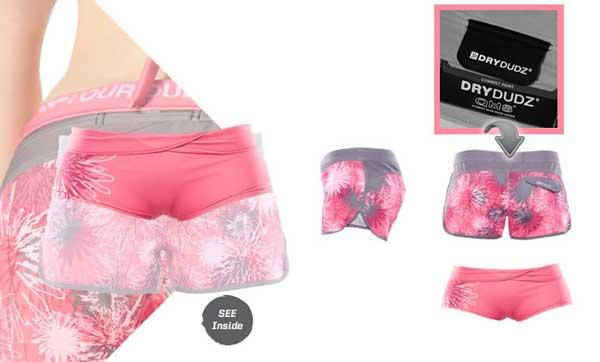 Dry Dudz Tara Hybrid Boardshorts
