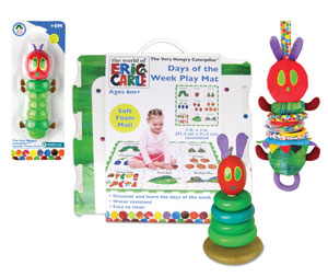 The Very Hungry Caterpillar Prize Pack