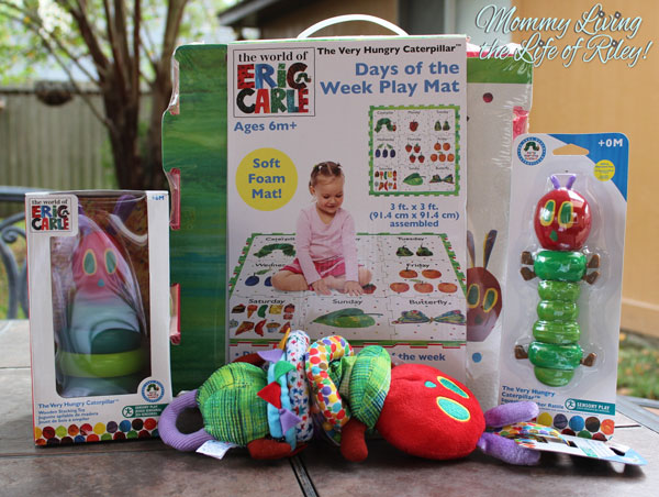 The World of Eric Carle Very Hungry Caterpillar Baby Toys