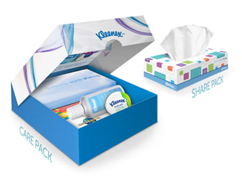 Kleenex Tissues Care Pack