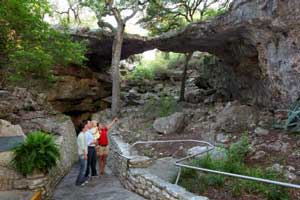 Natural Bridge Caverns in San Antonio