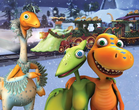 Dinosaur Train Christmas