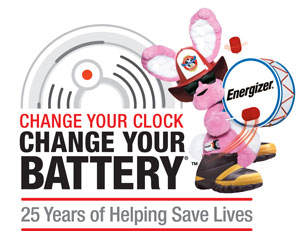Energizer's Change Your Clock Change Your Battery
