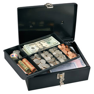 Master Lock Storage Security Cash Box