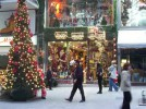 Stores Decorated for Christmas