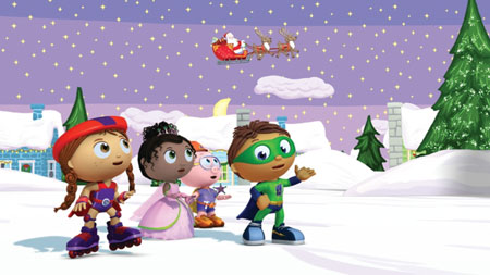 Super Why! Christmas