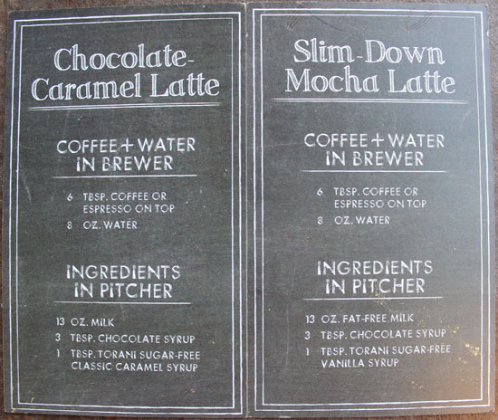 Cafe Latte Recipes