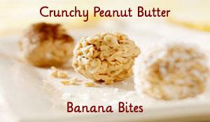 Crunchy Peanut Butter Banana Bites Recipe