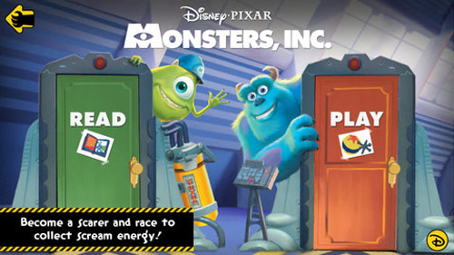 Monsters Inc. Storybook Deluxe App