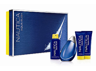 Nautica Aqua Rush 4-Piece Gift Set