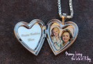 Sterling Silver Heart Valentine Photo Locket