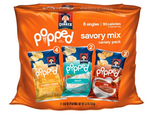 Quaker Popped Savory Snacks
