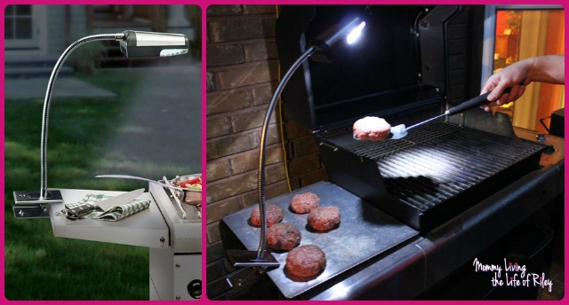 Flexible Cordless Stainless Steel Grill Light