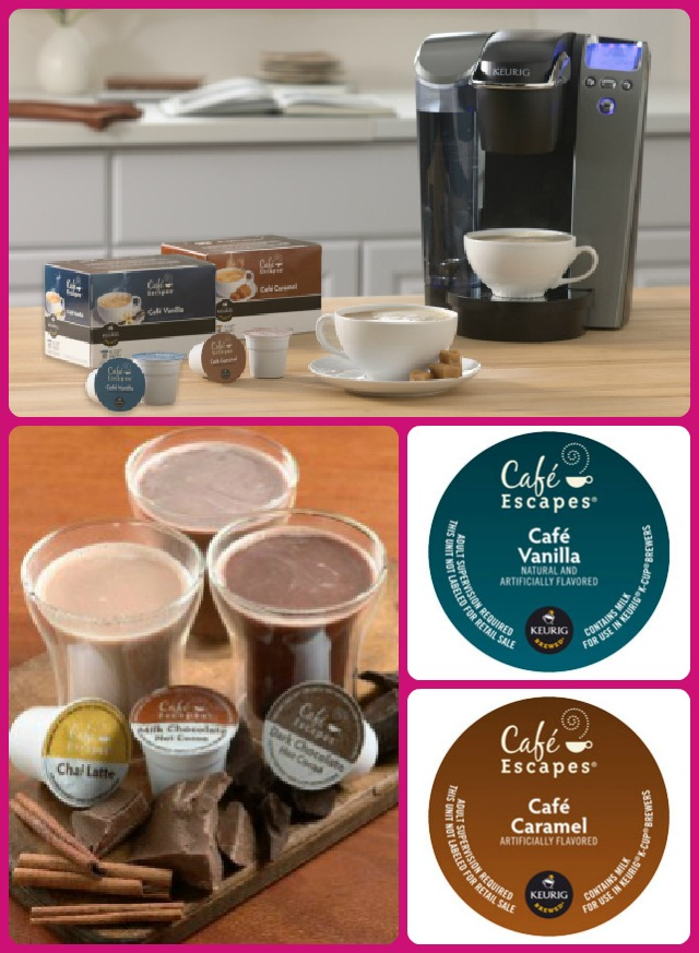 Keurig Cafe Escapes Collage
