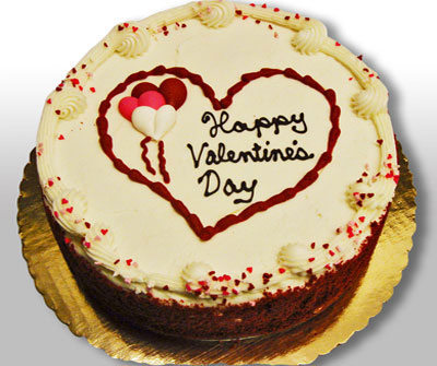 Valentine's Day Red Velvet Cake