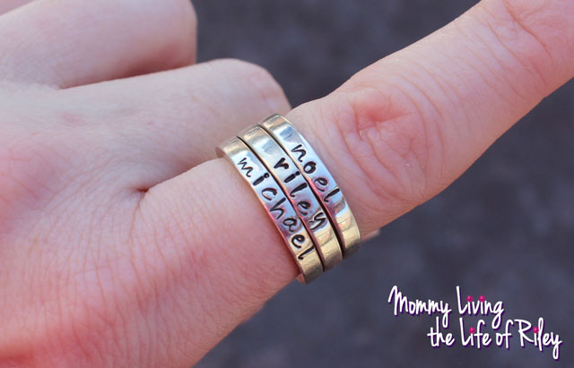 Something About Silver Stacking Rings