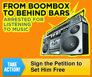 Boombox to Behind Bars