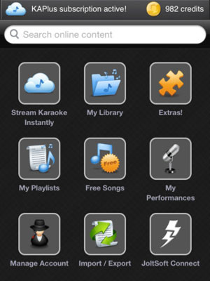 Karaoke Anywhere App