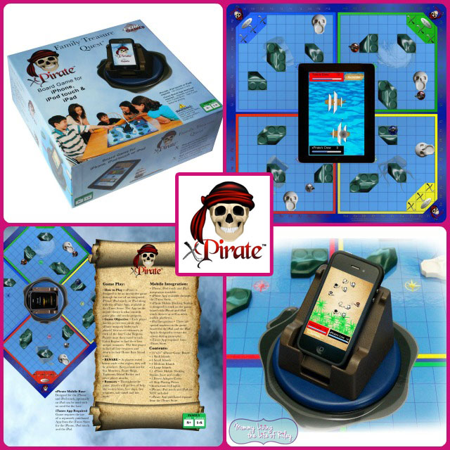 Review - Set Sail with xPirate ~ The World's First Mobile Technology Combined Game Board