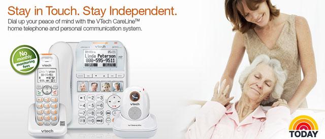 Vtech CareLine + Senior Phone System