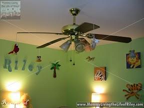 Fandangling in Riley's Room