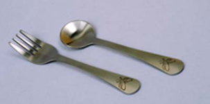Untangled Living Butterfly Fork and Spoon
