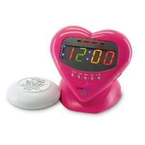 Sweetheart Alarm Clock from Sonic Alert