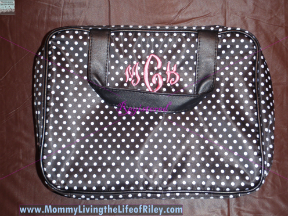 Personalized Hanging Cosmetic Case