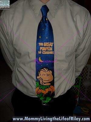 ABC Neckties Great Pumpkin Tie