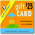 The Critical Thinking Co. Gift Certificate