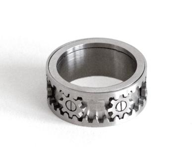 Kinekt Design Gear Ring