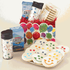 Miles of Smiles Gift Basket from Smiley Cookie