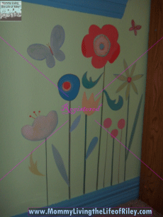 Garden of Posies Muralette Wall Decals from Magpie Decorative Painting