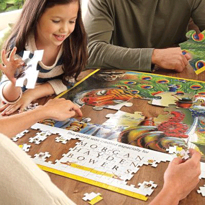 RedEnvelope Personalized Puzzle