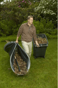 Leaf Loader Lawn Cleanup Tool