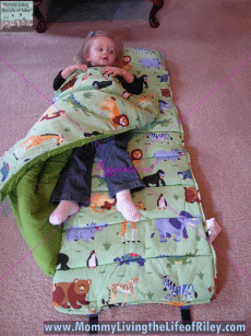 Brianna's Bedding and Beyond Olive Kids Toddler Nap Mat