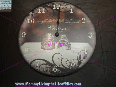 "For All Time Clocks Personalized Design 18"" Wall Clock"