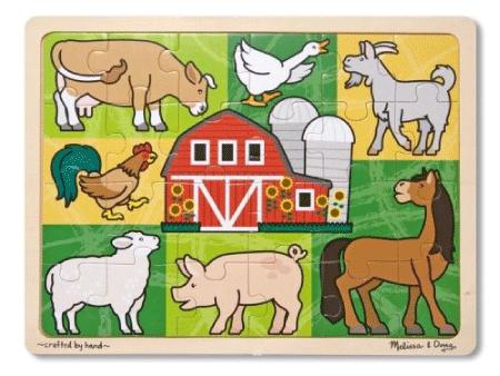 Melissa & Doug Patchwork Farm Jigsaw Puzzle