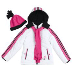 Rothschild Kids Sporty Snowflake Winter Jacket