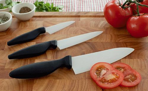 """Shenzhen Knives 6"""" Ceramic Chef's Knife"""