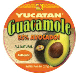 Yucatan Food Authentic Guacamole