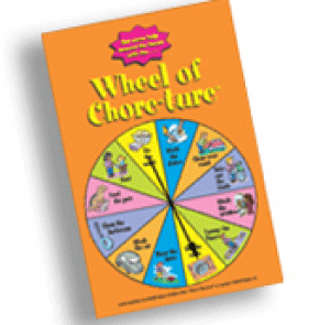 Wheel of Chore-ture from McNeill Designs for Brighter Minds