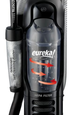 Eureka Whirlwind 3272AV Bagless Upright Vacuum Cleaner