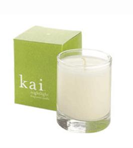Kai Fragrance Nightlight Candle