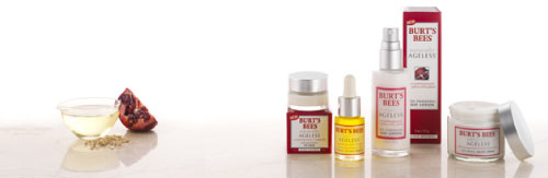 Burt's Bees Naturally Ageless Skin Care Products