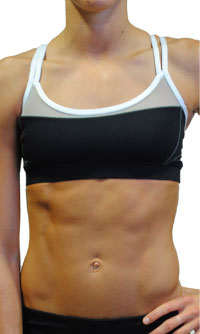 Alo Strappy Scoop Neck Bra